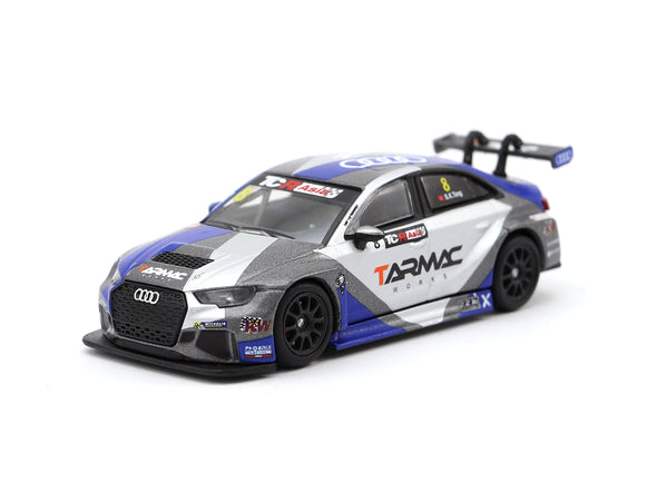 Tarmac Works HOBBY64 Audi RS3 LMS TCR Asia 2017 Tarmac Works / Phoenix Racing Asia - T64-013-17TCR8