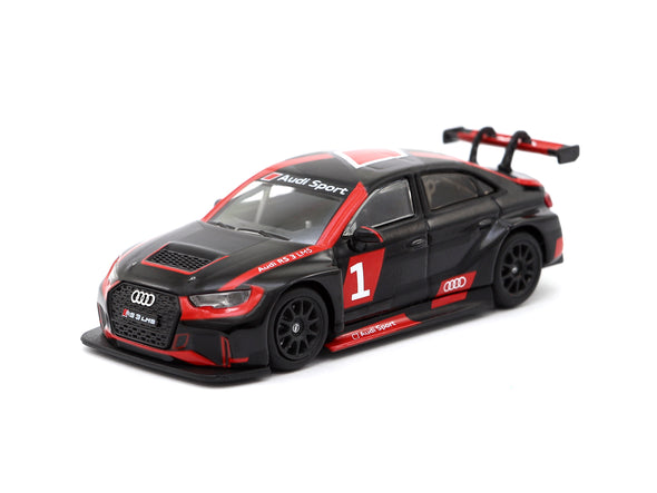 Tarmac Works HOBBY64 Audi RS3 LMS Presentation Version - T64-013-PRE