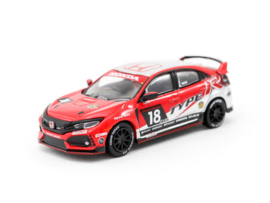 Tarmac Works HOBBY64 Honda Civic Type R FK8 NASA - T64-014-NASA