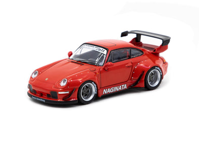 Tarmac Works Hobby64 RWB 993 Naginata  (USA Special Edition) - T64-017-NA