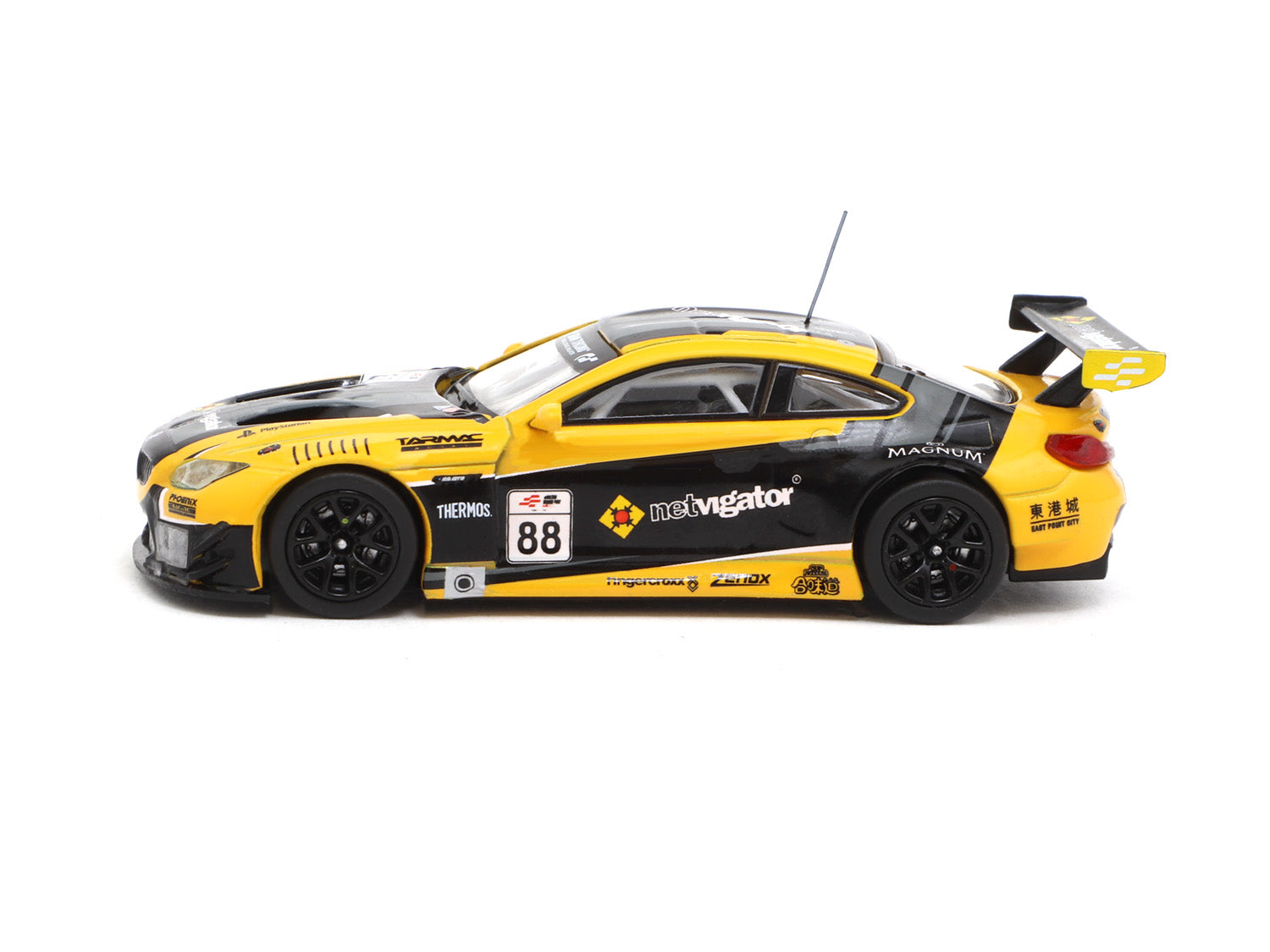 Tarmac Works 1//64 BMW M6 GT3 eRacing Grand Prix HK #88 Hobby64 #T64-020-eRGP18NE