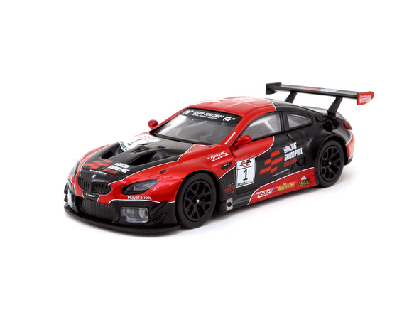 Tarmac Works HOBBY64 BMW M6 GT3 eRacing Grand Prix Hong Kong Special Edition