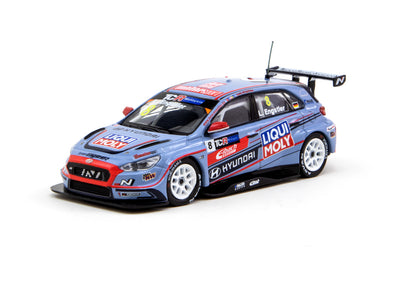 Tarmac Works Hobby64 Hyundai i30 N TCR TCR Malaysia 2019 Champion Luca Engstler - T64-031-19TCRM08