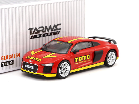 Tarmac Works GLOBAL64  Audi R8 V10 Plus (MOMO) - T64G-001-MOMO