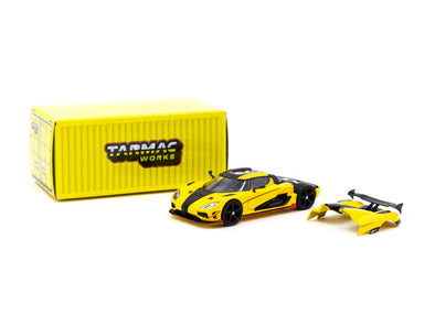 Tarmac Works Global64 Koenigsegg Agera RS - Yellow- T64G-005-ML