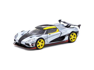 """CHASE CAR"" Tarmac Works Global64 Koenigsegg Agera RS - Yellow- T64G-005-ML"