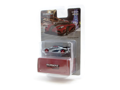 """CHASE CAR"" - Tarmac Works Global64 Koenigsegg Agera RS - Red / Black- T64G-005-RD"