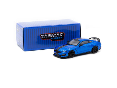 Tarmac Works Global64 Ford Mustang Shelby GT350R  Blue Metallic - T64G-0011-BL