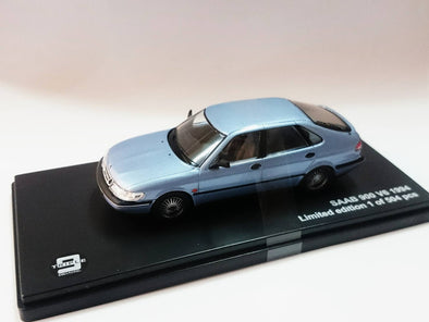 Triple 9 (by Premium X) 1/43 SAAB 900 V6 1994 Metalic blue - T9-43068