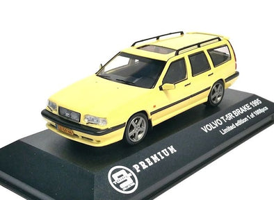 Triple 9 (by Premium X) 1/43 1995 Volvo T-5R Break, yellow  - T9P-10006