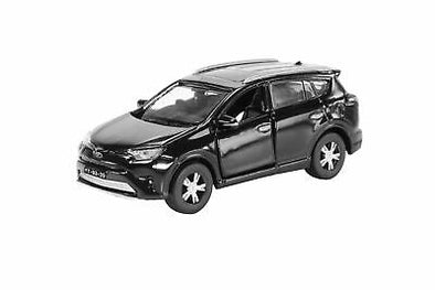 Tiny City Macau 17 Die-cast Model Car - Toyota RAV4 Black 豐田RAV4 黑色 (澳門車牌)