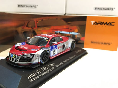Tarmac Works  x Minichamps 1/43 Audi R8 LMS Ultra - 24h of Nurburgring 2015 12th overall Cheng/ Lee/ Thong/ Yoong