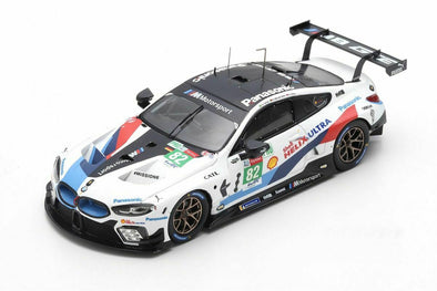 Spark x TSM 1/43 BMW M8 Deep #82 24 Hours of Le Mans 2018 BMW - Da Costa - Sims #TSM430488