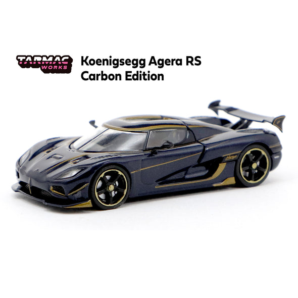 Tarmac Works Global64 Koenigsegg Agera RS Naraya - Carbon Edition (HK Exclusive Model) - T64G-005-NA