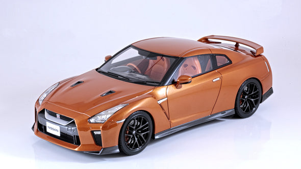 Tarmac Works 1/18 Nissan GT-R MY2017 - Ultimate Shiny Orange - T11-SO
