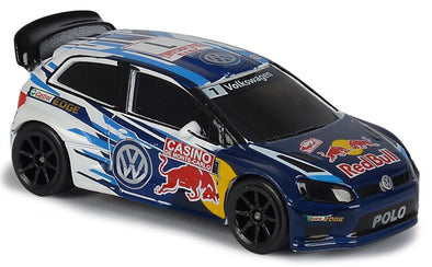 Majorette Racing Single Pack (VW Polo R WRC-Red Bull)