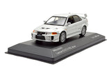 WhiteBox 1/43 MITSUBISHI LANCER EVO V RS 1998 - Silver  - WB214