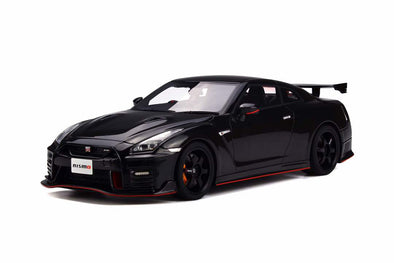 GT Spirit 1/18 Nissan GTR  Nismo 2017 - Black (Asian Exclusive Edition) - KJ015
