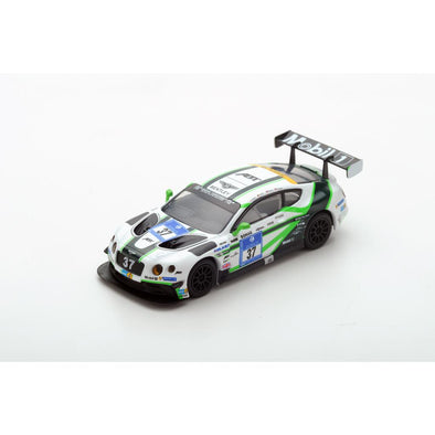 Spark 1/64 Bentley Continental GT3 No.37 Bentley Team ABT Nürburgring 24H 2016 C. Jöns - S. Kane - M. Holzer - C. Brück - Y114