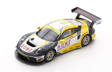 Spark 1/64 PORSCHE 911 GT3 R NO.99 ROWE RACING 2ND FIA GT WORLD CUP MACAU 2019 LAURENS VANTHOOR - Y166