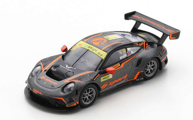 Spark 1/64 PORSCHE 911 GT3 R NO.911 ABSOLUTE RACING FIA GT WORLD CUP MACAU 2019 ALEXANDRE IMPERATORI - Y172