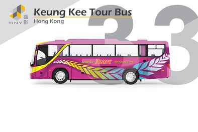 Tiny City 33 die-cast model car - Keung Kee Tour Bus 強記旅遊巴