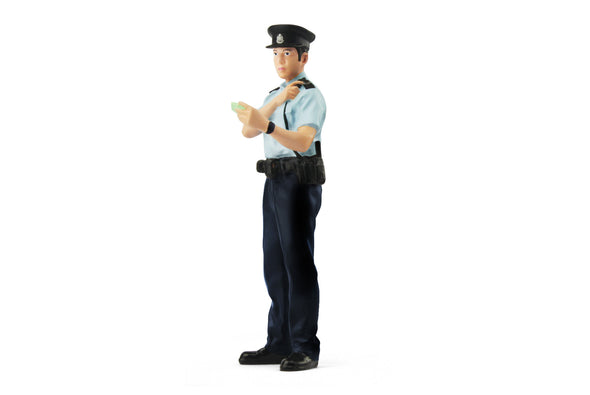 Tiny 1/18 Resin Figure -  Police Constable (PSU) 夏季巡邏警員 (男) -   ATRF18005