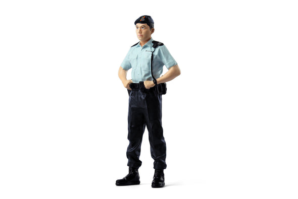 Tiny 1/18 Resin Figure -  Police Sergeant (PTU) 機動部隊 (男) -   ATRF18007