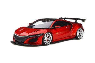 GT Spirit 1/18 HONDA NSX Customized car by LB-WORKS Candy Red - GT245