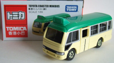 Tomica Special Edition Toyota Coaster Minibus Hong Kong - Green