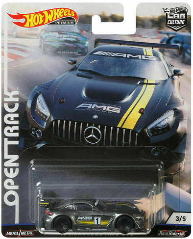 Hot Wheels Premium Car Culture Open Track -16 Mercedes-AMG GT3