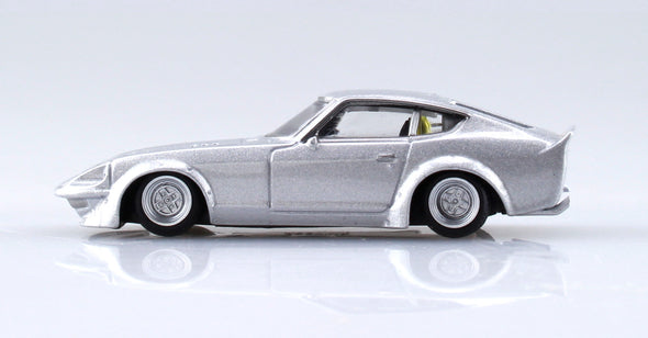 Aoshima 1/64 Grand Champion Collection 10 - LB Works Fairlady Z 1973 (S30) Silver LBフェアレディZ #2