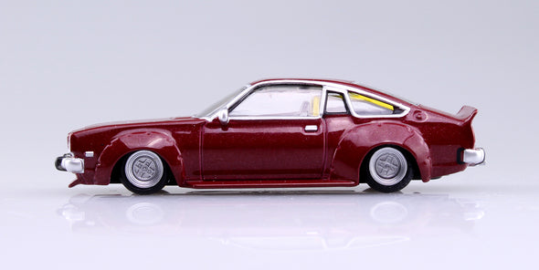 Aoshima 1/64 Grand Champion Collection 10 - Mazda Cosmo AP 1975 (CD23C) Red コスモAP #2
