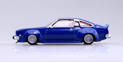Aoshima 1/64 Grand Champion Collection 10 - Mazda Cosmo AP 1975 (CD23C) Blue コスモAP #1