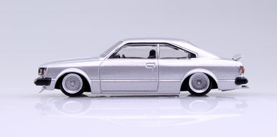 Aoshima 1/64 Grand Champion Collection 10 - Toyota Corolla HT 1980 (RA45) Silver カリーナHT #2