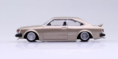 Aoshima 1/64 Grand Champion Collection 10 - Toyota Corolla HT 1980 (RA45) Gold カリーナHT #1