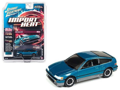 Johnny Lightning 1/64 Mijo HONDA CRX SI TAHITIAN GREEN