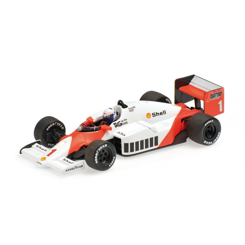 Minichamps 1/43 MCLAREN TAG MP4/2C - ALAIN PROST - WORLD CHAMPION 1986 - 436860001