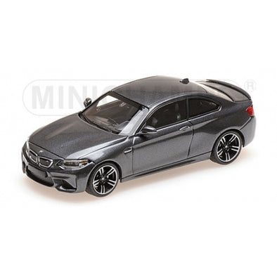 Minichamps 1/43 BMW M2 – 2016 – GREY METALLIC #410026106