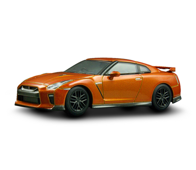 Kyosho 1/64 NISSAN GT-R 2017 - Orange