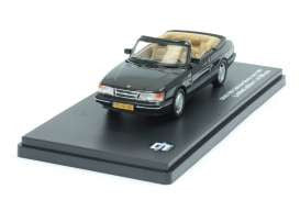 Triple 9 (by Premium X) 1/43 Saab 900 cabriolet, black - T9-43048