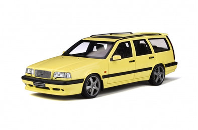 Otto Mobile 1/18 Volvo 850 T5-R Estate - Cream Yellow - OT310