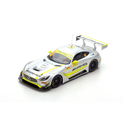 Spark 1/18 Mercedes-AMG GT3 No.48 - Mercedes-AMG Team Driving Academy Winner FIA GT World Cup Macau 2017 Edoardo Mortara  #18MC17