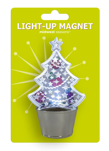 MAGNET TREE LIGHTED 4