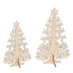 CHRISTMAS TREE PLYWOOD 115/8""