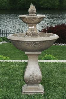 Two Tier Oval Jubilee Fountain