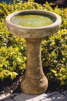 One Piece Hummingbird Bird Bath