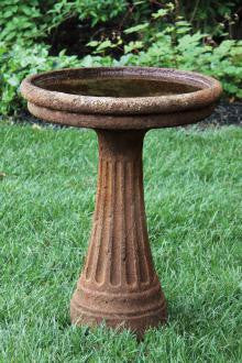 Chelsea Fluted Bird Bath