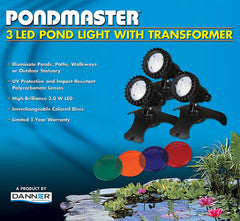 Pond Light-Pondmaster LED 3 Light Kit
