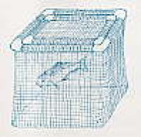 Floating Fish Cage 2' x 3' x 2'